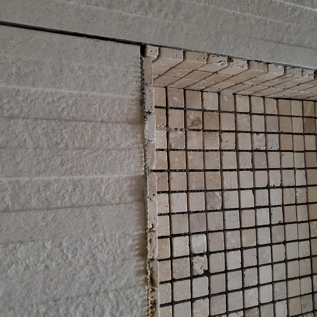 Некачественная укладка плитки